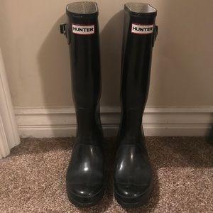 Like new Hunter Rainboots